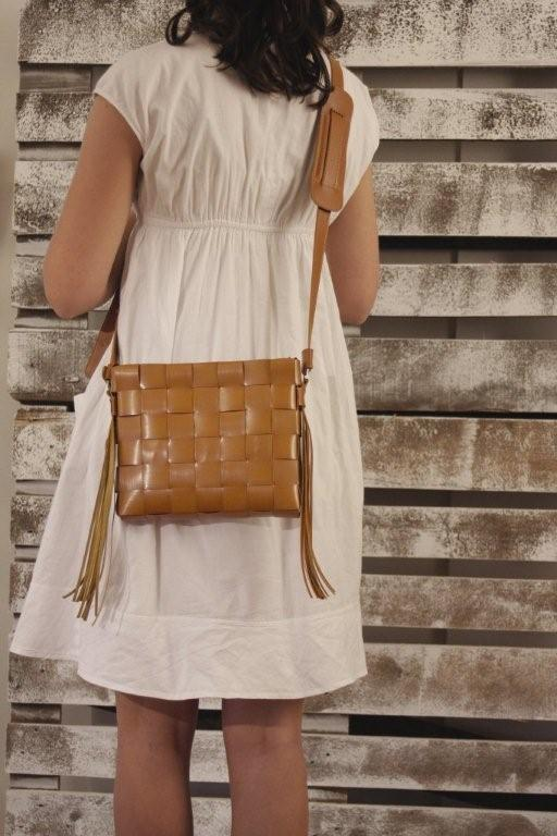 Sac bandouli�re � franges